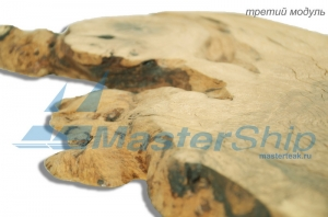 Модульное панно из дубовых слэбов
