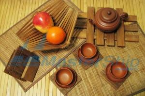 Деревянная посуда для яхты и дома